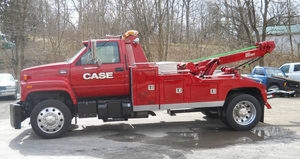 Case Towing Tow Truck