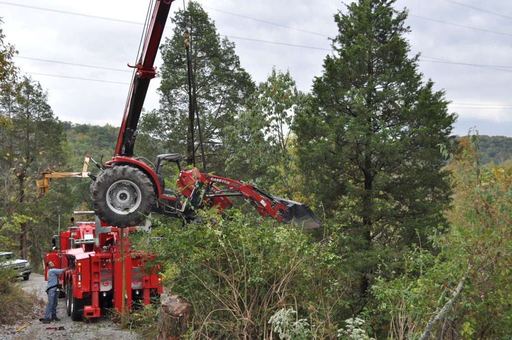 Case Towing Lifting Tractor