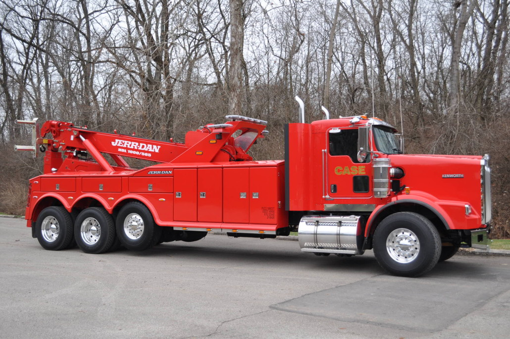 Case Towing Boom Truck