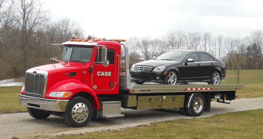 Case Towing Towing Car